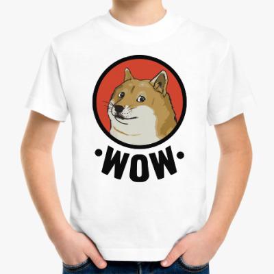 Детская футболка Лайка WOW