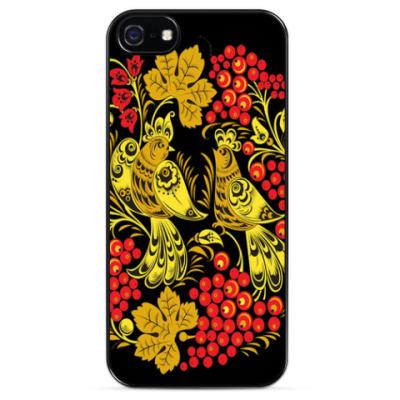 Чехол для iPhone Хохлома - модная тема