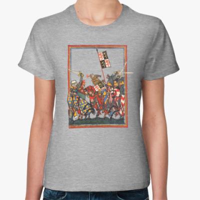 Женская футболка Сражение