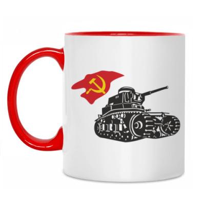 Кружка Советский танк МС-1