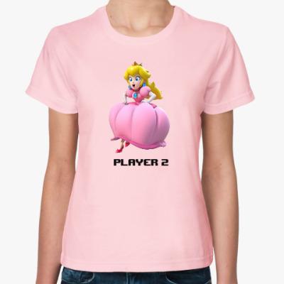 Женская футболка Принцесса Марио