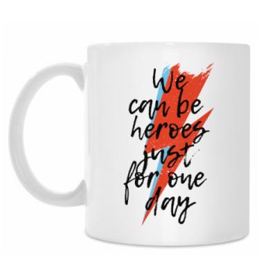 Кружка Heroes. Дэвид Боуи