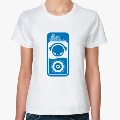Классическая футболка Dj
