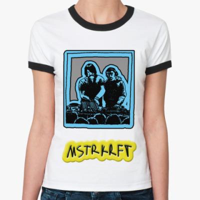 Женская футболка Ringer-T   MSTRKRFT