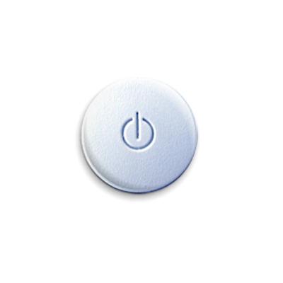 Значок 25мм «Выкл»