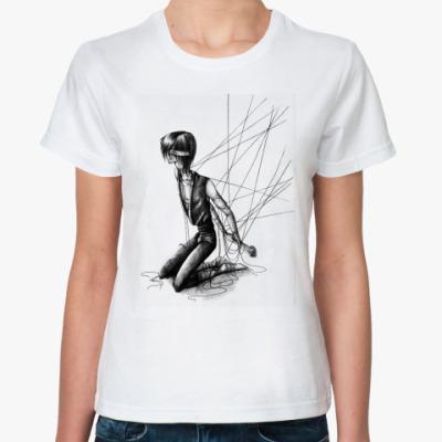 Классическая футболка  'Паутина'