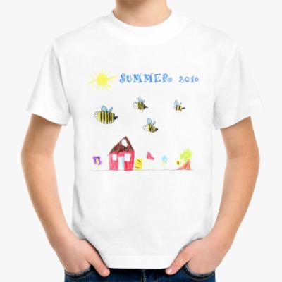 Детская футболка Летние пчелки