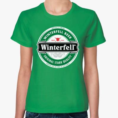 Женская футболка Winterfell