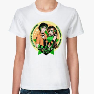 Классическая футболка  WASABI-FEST 2011
