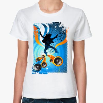 Классическая футболка  'Драйв'