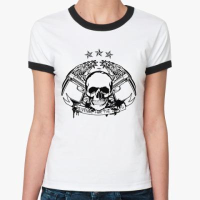 Женская футболка Ringer-T Revenge  Ж ()
