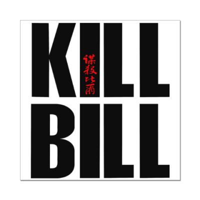 Наклейка (стикер) Kill Bill