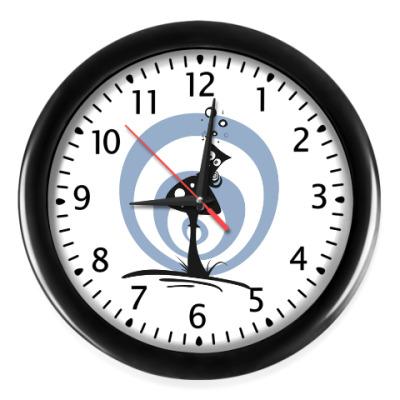 Настенные часы Shroom