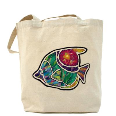 Сумка Цветная рыбка