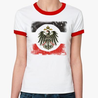 Женская футболка Ringer-T Кайзеровская Империя
