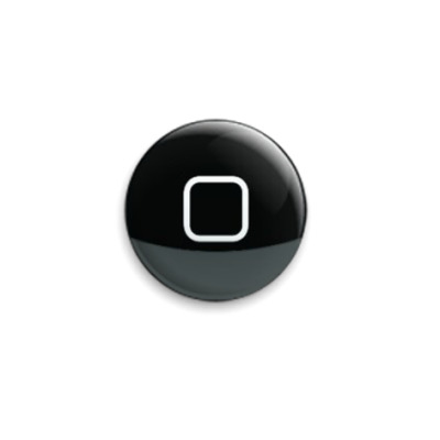 Значок 25мм  iPhone Home Button