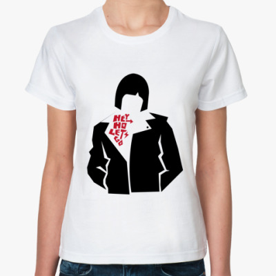 Классическая футболка Hey Ho Жен (бел)