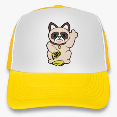 Кепка-тракер Tard Grumpy Cat Maneki Neko