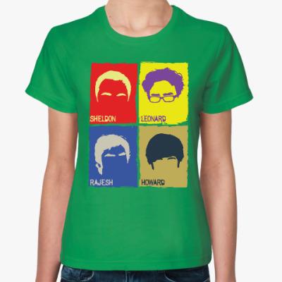 Женская футболка TBBT PopArt