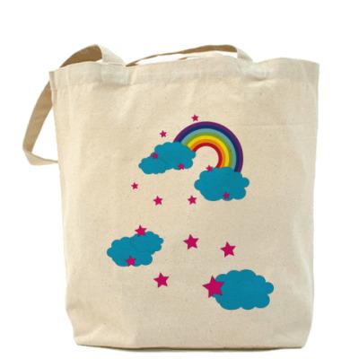 Сумка Холщовая сумка Rainbow