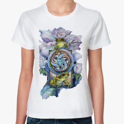 Классическая футболка Princess frog