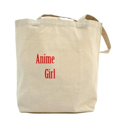 Холщовая сумка с Анимэ