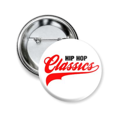 Значок 50мм Hip Hop Classics