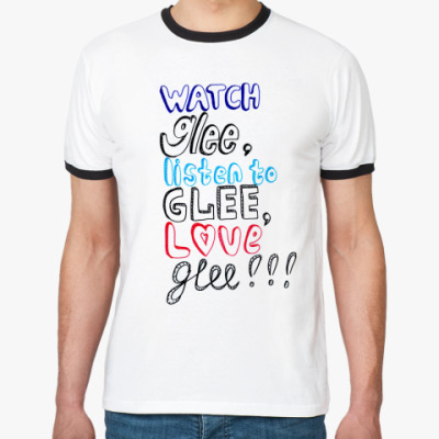 Футболка Ringer-T   Glee