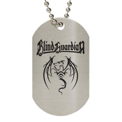 Жетон dog-tag Blind Guardian
