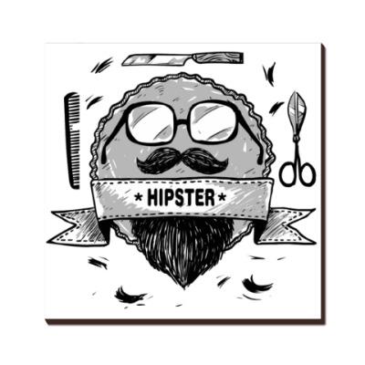 Хипстер борода и усы