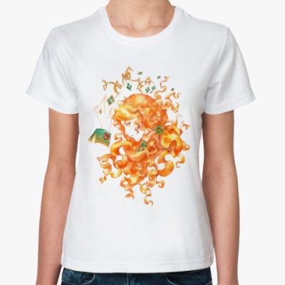 Классическая футболка Ирландские мотивы (ж)