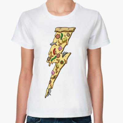 Классическая футболка Пицца