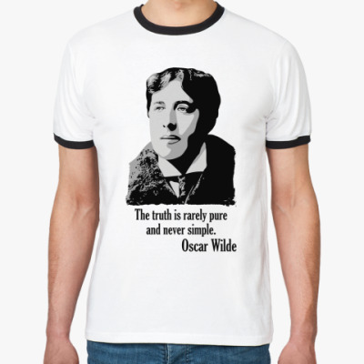 Футболка Ringer-T Oscar Wilde