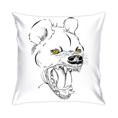 Подушка хохочущая гиена