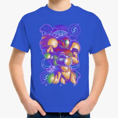 Детская футболка Самус Аран