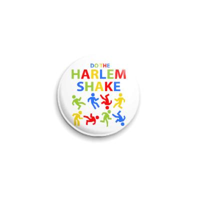 Значок 25мм Harlem Shake