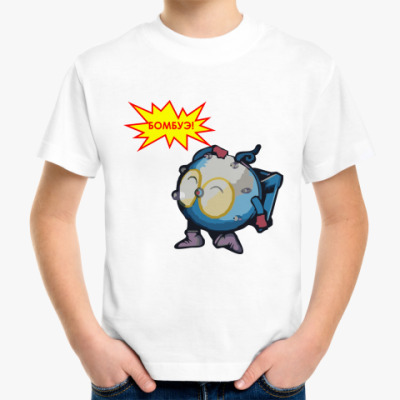 Детская футболка bombue