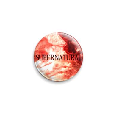 Значок 25мм Supernatural
