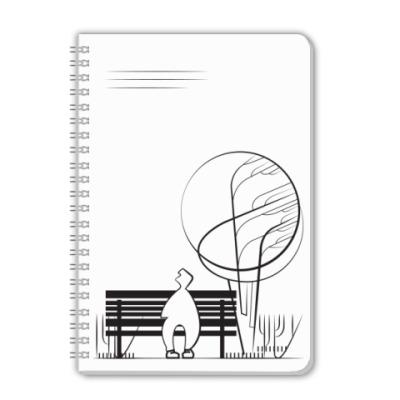 Тетрадь BubbleForest /Скамья