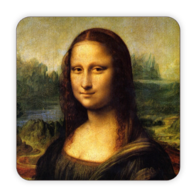 Костер (подставка под кружку) Мона Лиза Джоконда