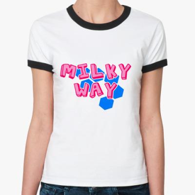 Женская футболка Ringer-T Tecktonik