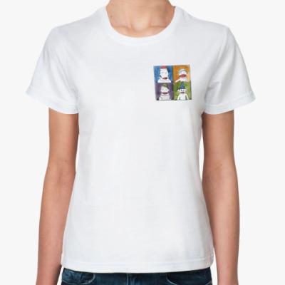Классическая футболка обезьяны