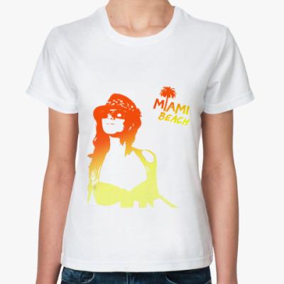 Классическая футболка MIAMI BEACH