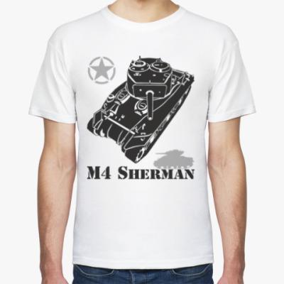 Футболка Американский танк M4 Sherman