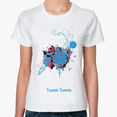 Классическая футболка Tweet