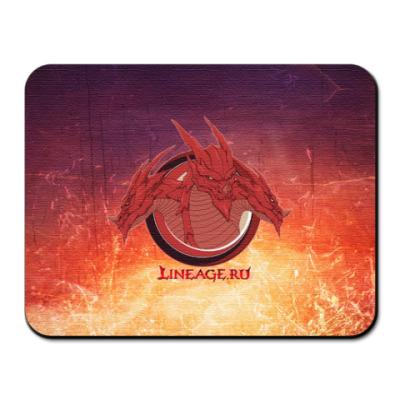 Коврик для мыши Dragon fire