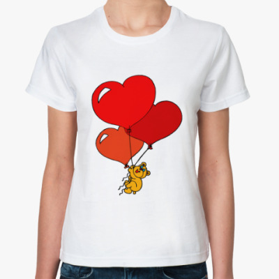 Классическая футболка Воздушная любовь!
