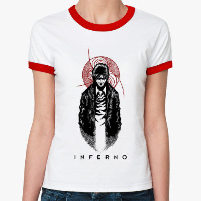 Женская футболка Ringer-T Inferno