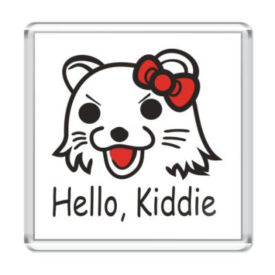 Магнит  Hello, Kiddie