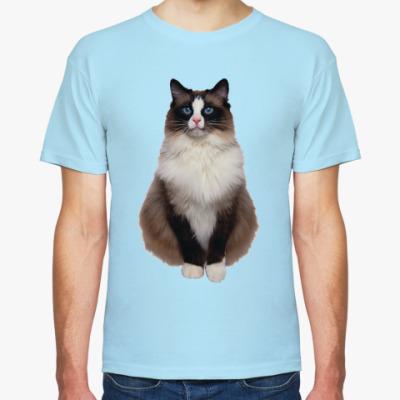 Футболка Blue Eyed Cat